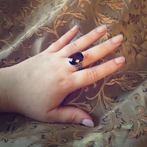 Premier Designs Jewelry - Premier Designs Smoky Cornerstone Ring